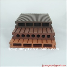 wpc outdoor decking/natural feel comfortable and cheap wpc decking/wpc decking tile for outdoor project