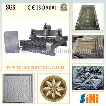 SIN-S1325 Jinan professonmal heavy stone laser cnc cutter