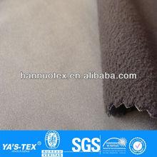 waterproof breathable knit fabric bonded polar fleece fabric