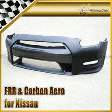For Nissan 11-13 R35 GTR Carbon Fiber OEM Style Front Bumper