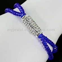 Trendy Crystal Stretch Bracelet-JNJ6128/SP fashion promotional bracelets