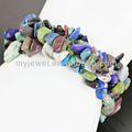 Turquesa de moda pulsera de estiramiento- hb369/mxbl de moda pulsera de samoa
