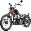 New 250cc Bobber Style Motorcycle-Apehanger Handlebars & Chrome Black Custom Springer Front Ends
