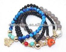 Top quality customize magnetic rhinestone bracelets