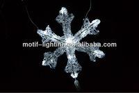 24L low voltage string christmas decoration led snowfall lights