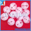 plástico polyhedral hollow ball para tratamento de águas residuais e gases de escape de purificação