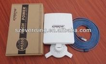 High Power 80dbi Kasens N5200 RT3070 USB Wireless Wifi Antenna Dongle support 802.11/b/g/n
