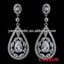 hot sale big earings for wedding