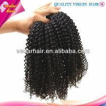 Natural hair flip in hair extension