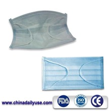 one-time designer surgical skin colored face mask
