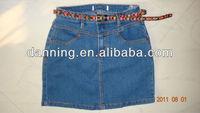 ladies short denim skirt jeans