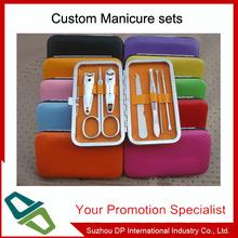 Lady mini manicure set with pu box