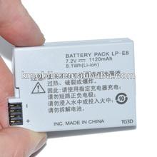 For Canon LP-E8 LPE8 EOS Rebel T2i T3i EOS 550D 600D Camera Battery
