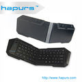 Hapurs mini teclado bluetooth para teléfonos inteligentes windows mobile, venta caliente mini inalámbrico teclado bluetooth para ipad para pc de iptv