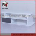 blanc mdf bois lcd plasma tv stand