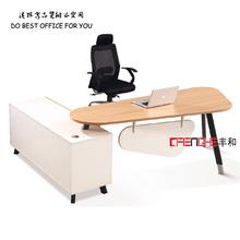 Hot melamine top table modern office staff desk