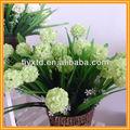 Flores artificiais de tecido, flores artificiais de orquídeas, arranjos de flores artificiais com vaso