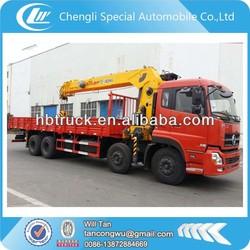 Dongfeng Kingland 16 ton straight arm telescopic boom truck lorry crane