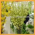 Arranjos de flores artificiais com vaso, flores artificiais buquê de casamento, artificial mini flor tulipa