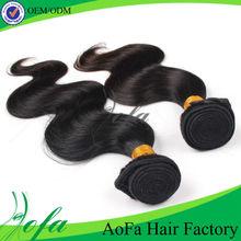Tangle and shedding free beautiful wave 100% virgin brazilian human hair