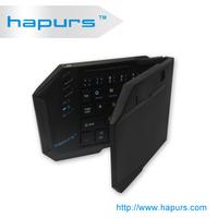 Hapurs Latest 2014 Shenzhen Factory Wireless Ergonomical keyboard ABS for game gaming,Best price wireless bluetooth3.0 keyboard