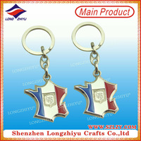 Wholesale Crystal Key Chain With Color Imprinting Logo