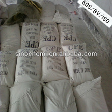 Chlorinate polyethylene cpe for PVC pipes from China