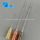 blunt tip micro cannula needle for fillers