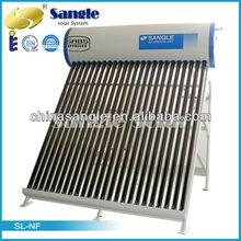 Solar Water Heater Costs Vacuum Tube Heat Pipe Flat Panel