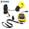 Portable sonar buscador de peces inalámbrica con sensor de profundidad detectado desde 0.7m a 100m