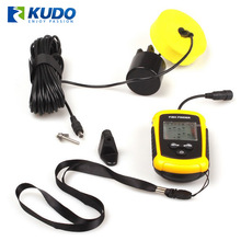 Portable Sonar Wireless Fish Finder with Sensor Detected Depth from 0.7m to 100m
