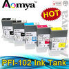 Aomya Compatible PFI-102 Ink Cartridges for Canon IPF500