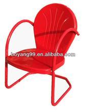outdoor/garden/patio metal vintage colorful chair