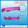 Custom promotion key chain plastic elastic key chain
