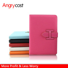 For Ipad Mini Cover Case With Belt Buckle Litchi Pu Leather Case
