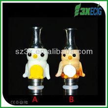 DRIP TIP - GLASS - CHINESE ZODIAC SYMBOLS 510 Mouthpiece