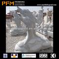 Pfm pedra Natural mão esculpida jardim estátuas de golfinhos