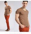 Nuevos hombres del diseño sexy hombres de la imagen de la camiseta 2014
