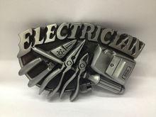 Zinc Alloy Electrician Belt Buckle For Electrician
