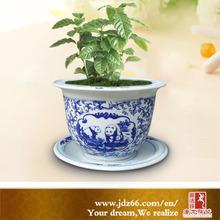 Jingdezhen Decorative Ceramic Blue and White Chinese Vase