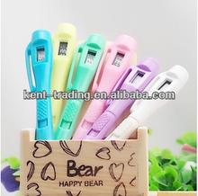 electric clock ballpoint pen promotional customized pen
