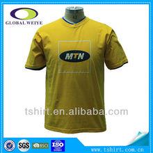 Custom printed men 100% cotton t-shirt manufacturer