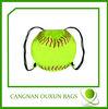 new style customized nylon baseball drawstring bag