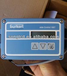 "Burkert DN20 3/4"" angle seat control valve 1067 positioner 2632 Pneumat Actuator"