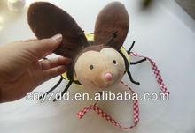 bee plush stuffed toys/soft toy bee/plush toy bee
