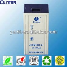 2v gel batteries 2v 1000ah lead acid deep cycle solar battery