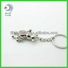 Customized 2013 Promotional Wholesale Custom Blank Metal Keychain