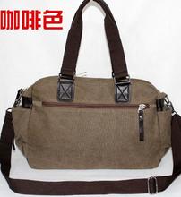 2014 New Hot Sale PU Splicing Canvas Casual Men's Bag Black/Khaki/Grey/Coffee BD13101113