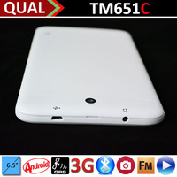 Hot Selling 6.5 inch touch tablet free games download with MTK8312 Dual Core 2G GSM phone calling Bluetooth GPS FM Android 4.2