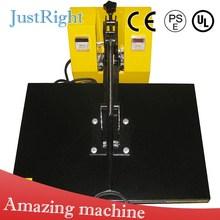 dye sublimation heat press machine auto-open